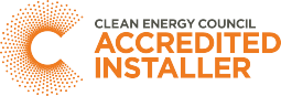 Clean Energy Council solar accreditation logo