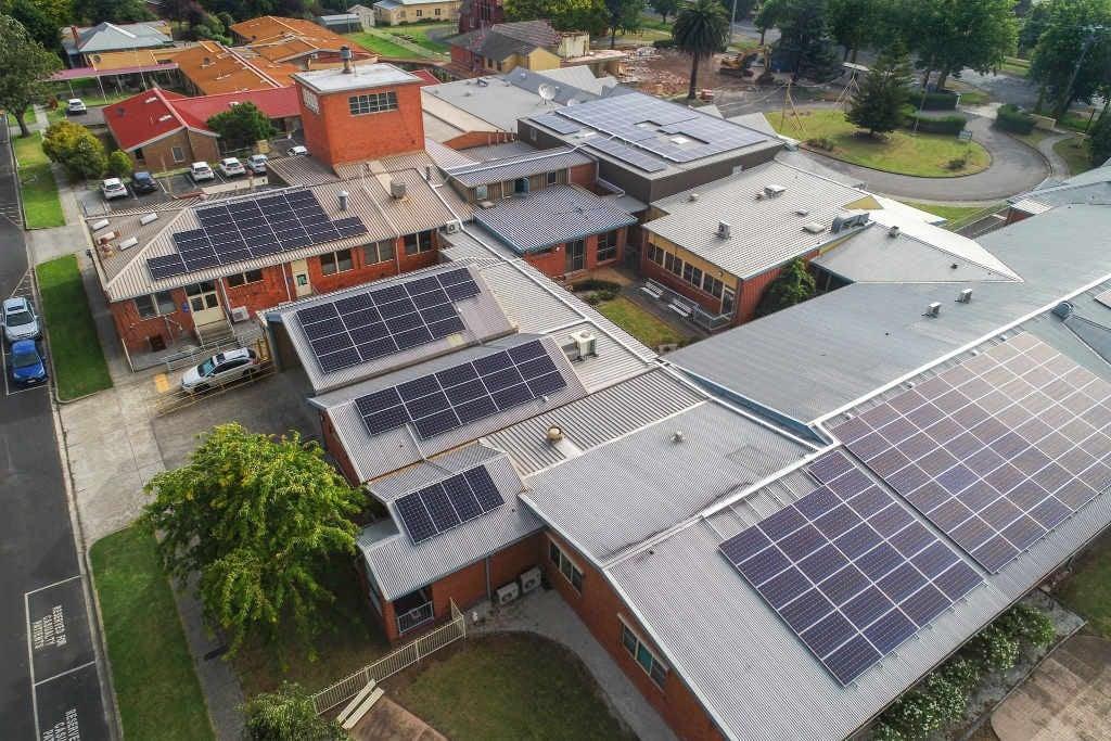 150kw Solar Power System At Yarram Amp District Health