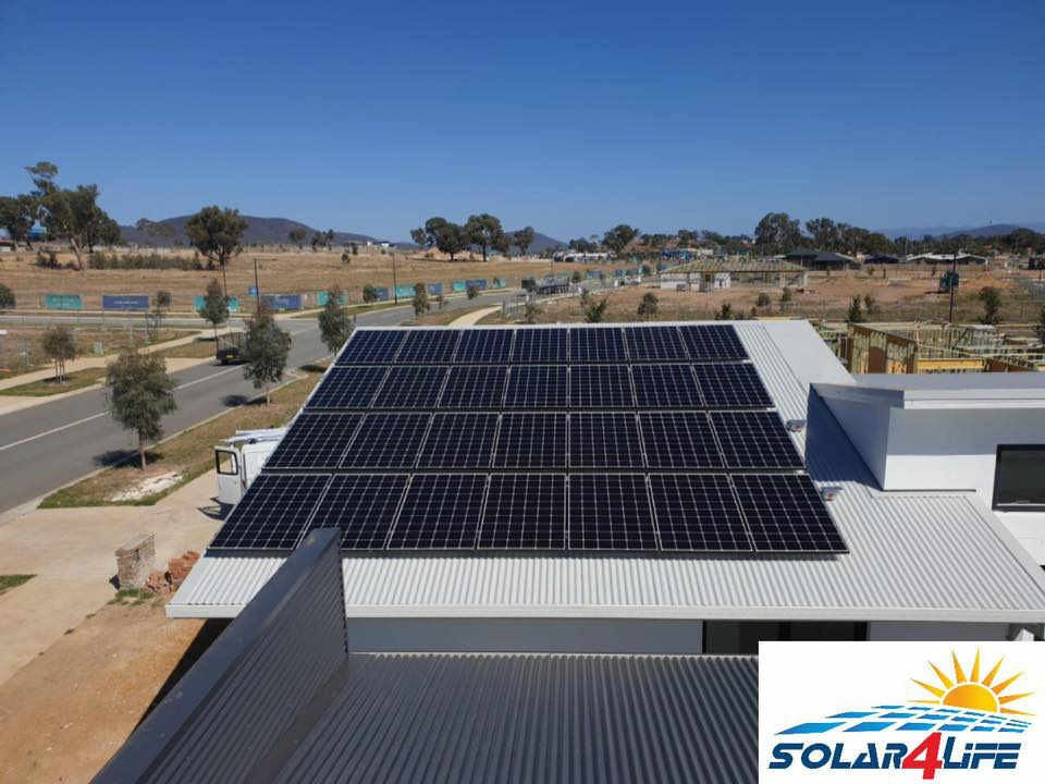 8 4kw Home Solar Power System In Throsby Act By Solar4life
